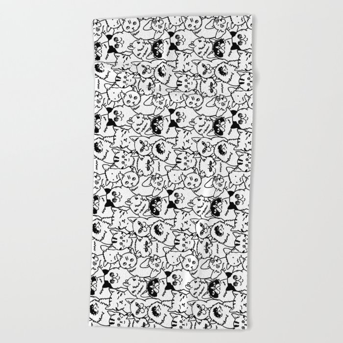 Oh Cats Beach Towel