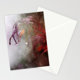 Autumn Rain Stationery Cards