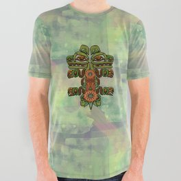 Forest Power All Over Graphic Tee
