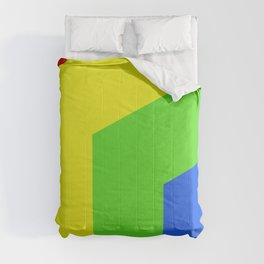 Band of Color Comforters