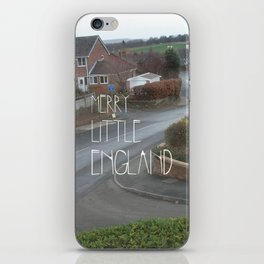 Merry Little England iPhone Skin