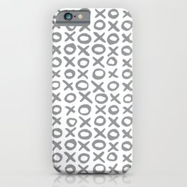 Xoxo Valentine's Day - Ultimate Gray iPhone Case