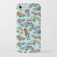 muscle iPhone & iPod Cases featuring Muscle Cars by Mario Zucca