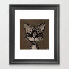 What's New Pussycat Framed Art Print