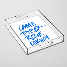 #JESUS2019 - Came Died Rose Eternity (blue) Acrylic Tray