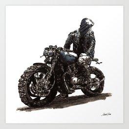 Rider 3 Art Print