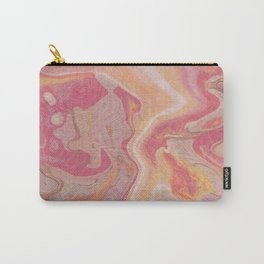 Sunset Abstract Painting - Watching the Sunset Carry-All Pouch