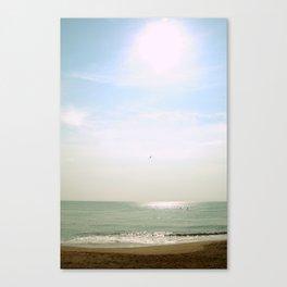 Nags Head, NC Mid-Morning Beach Canvas Print