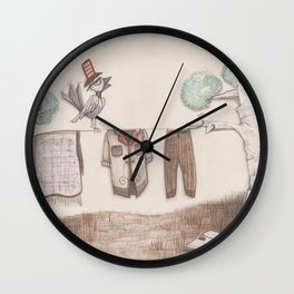 A bird Wall Clock