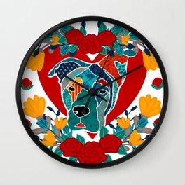 Loyal friend Wall Clock