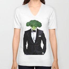 Mr. Broccoli Unisex V-Neck