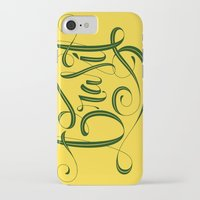 brasil iPhone & iPod Cases featuring BRASIL by Roberlan Borges