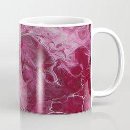 Magenta Love, abstract acrylic fluid painting Coffee Mug