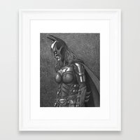 batgirl Framed Art Prints featuring BATGIRL by Bungle