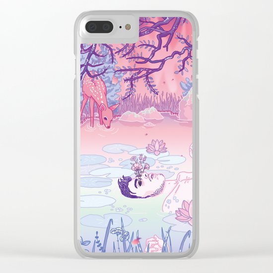 Ophelia was a man Clear iPhone Case