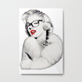 Cool Marilyn  Metal Print