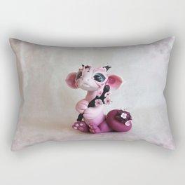 Cherry Blossom Dragon Rectangular Pillow