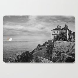 Home on the Irish Coast in Howth Ireland Cutting Board
