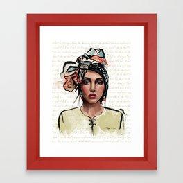 Rupi Kaur Framed Art Print