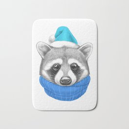 Little Raccoon Bath Mat