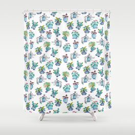 All Plant Bois Shower Curtain