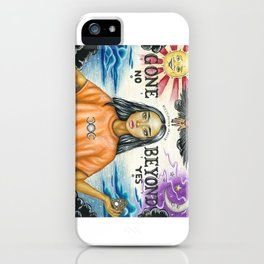 Gone Beyond iPhone Case