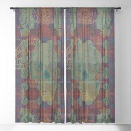 Catacomb Nightmare Sheer Curtain