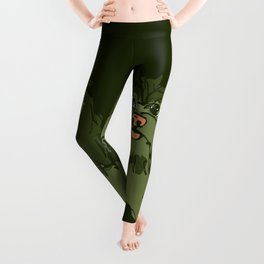 Lulz green Leggings