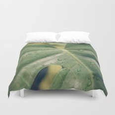 Philomena Philodendron Duvet Cover