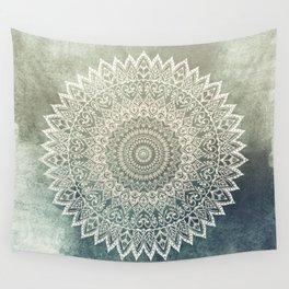 AUTUMN LEAVES MANDALA Wall Tapestry