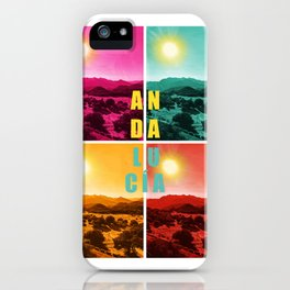 Colorful Andalusia iPhone Case