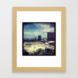 Loosing Dollars Framed Art Print