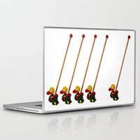 duck Laptop & iPad Skins featuring duck by Кaterina Кalinich