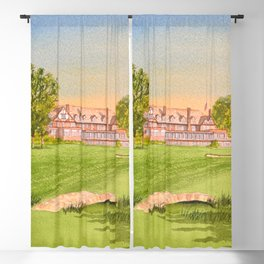 Royal Liverpool Golf Course 18th Hole Blackout Curtain