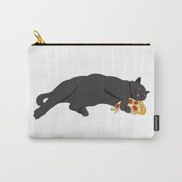 Paws off my pizza! - Perfect drawing for cat and pizza lovers alike Carry-All Pouch