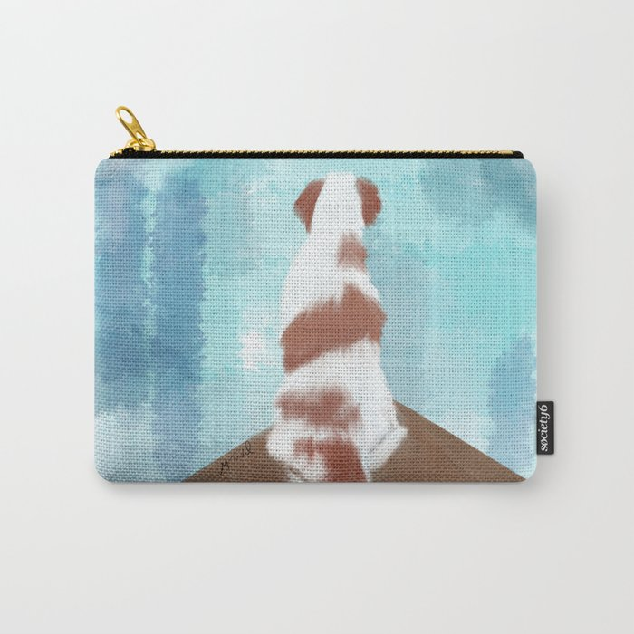Deschutes The Brittany Spaniel Carry-All Pouch