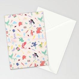 Mythological pattern Stationery Cards