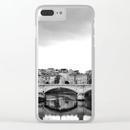 Sant'Angelo Bridge Clear iPhone Case