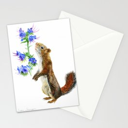 Take Time To Smell The Flowers by Teresa Thompson Stationery Cards