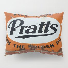Vintage Advertising Sign Pillow Sham