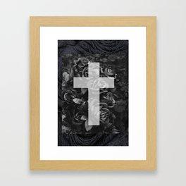 Crossroses Framed Art Print