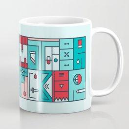 Colorful typography - Mother Fucker Coffee Mug