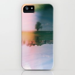 Double Exposure iPhone Case