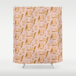 Electric Oasis  Shower Curtain