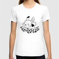 clover T-shirts featuring Clover Field by Freeminds