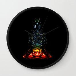 Pineapple chakra Wall Clock