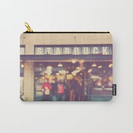 Seattle Starbucks photograph. A Star is Born Carry-All Pouch