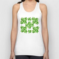 clover Tank Tops featuring Clover Print by UMe Images
