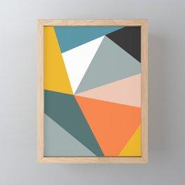 Modern Geometric 33 Framed Mini Art Print