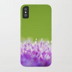 Pompoms iPhone X Slim Case